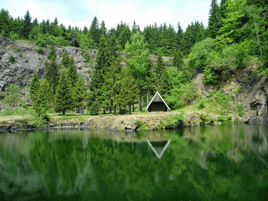 Bergsee bei Ebertswiese