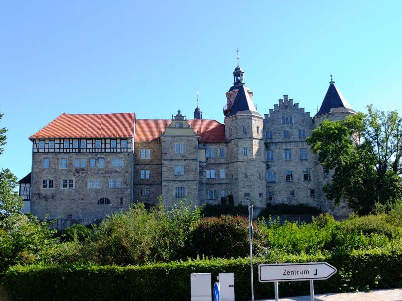 Die Bertholdsburg in Schleusingen